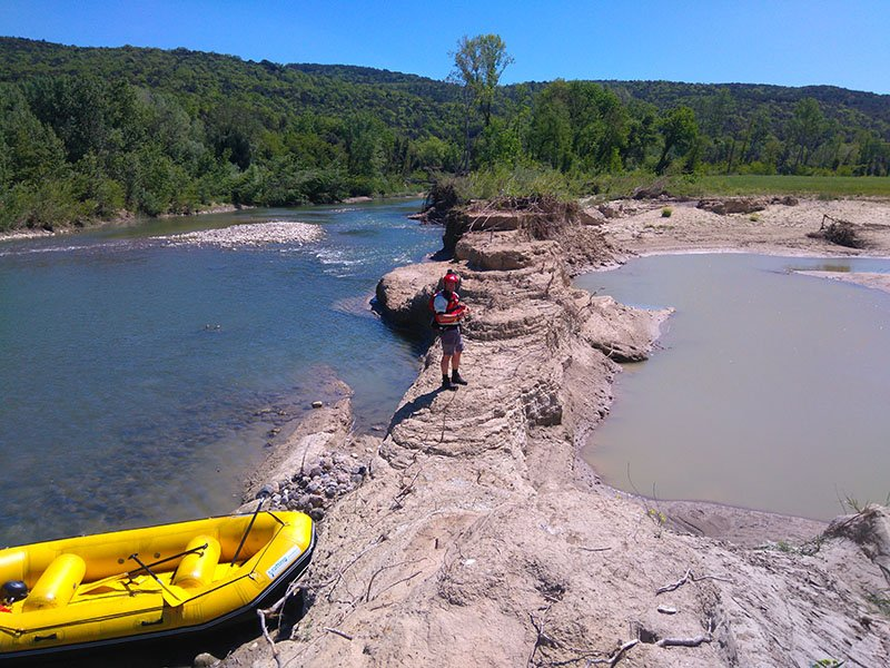 Rafting Maremma - Merse e Ombrone