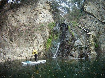 SUP escursionismo - Riserva Naturale P.te a Buriano - La Penna