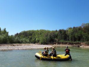 Rafting Maremma - Merse e Ombrone @ Pari, Provincia di Siena e Grosseto