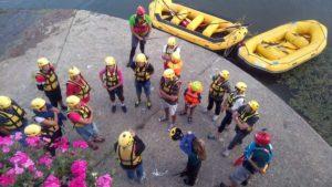 Rafting Firenze - Archeologia Narrante @ Arno a Firenze