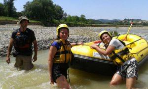 Rafting Maremma Selvaggia - Merse e Ombrone @ Pari, Provincia di Siena e Grosseto