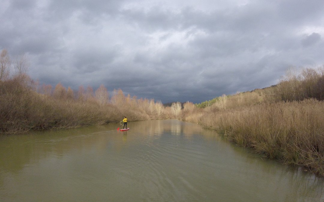 SUP in the Bandella Nature Reserve and Valle dell'Inferno