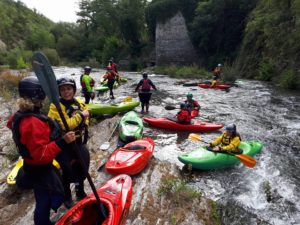 Corso di base kayak fluviale @ San Jacopo al Girone, Firenze e Fiesole