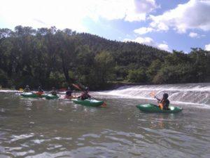 Kayak sul lago di Bilancino @ Lago di Bilancino