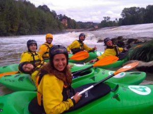 Corsi di kayak fluviale @ San Jacopo al Girone, Firenze e Fiesole