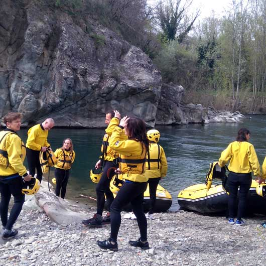 Exclusively Casentino Rafting