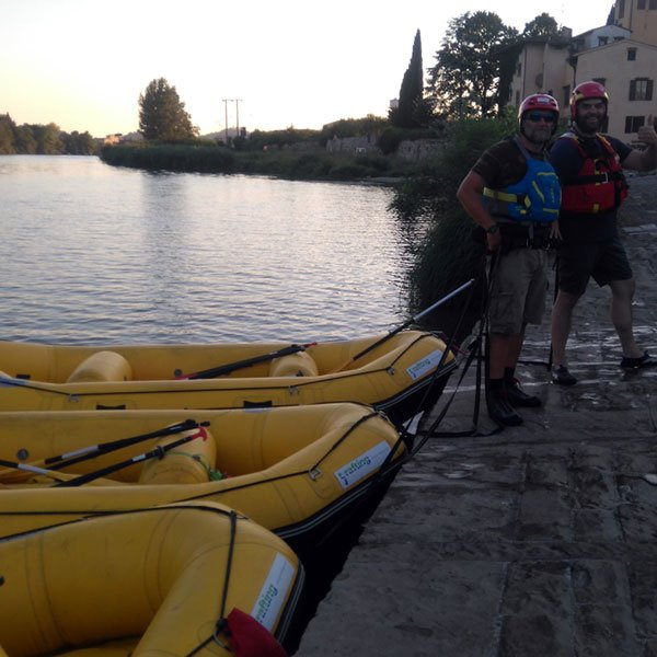 Arno Mills and Fulling Mills Rafting Itinerary