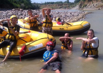 Rafting in the Wild Maremma