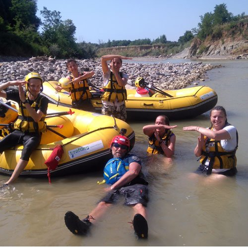 Rafting in the Wild Maremma