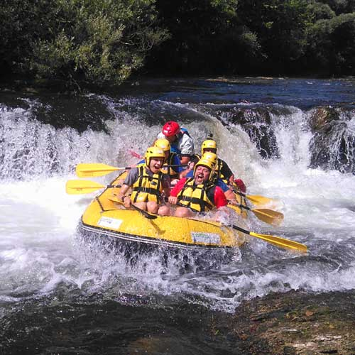 Rafting outdoor in Toscana