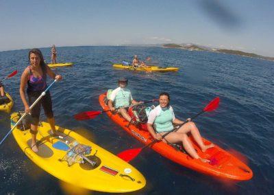 Kayak a Baratti e Buca delle Fate