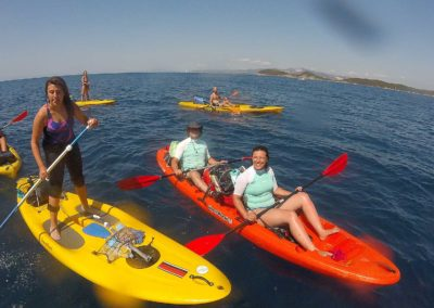 Kayak at Baratti and Buca delle Fate