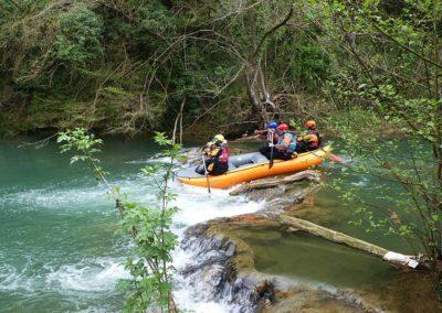 Rafting Elsa River
