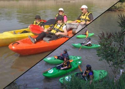 Whitewater and touring kayak courses