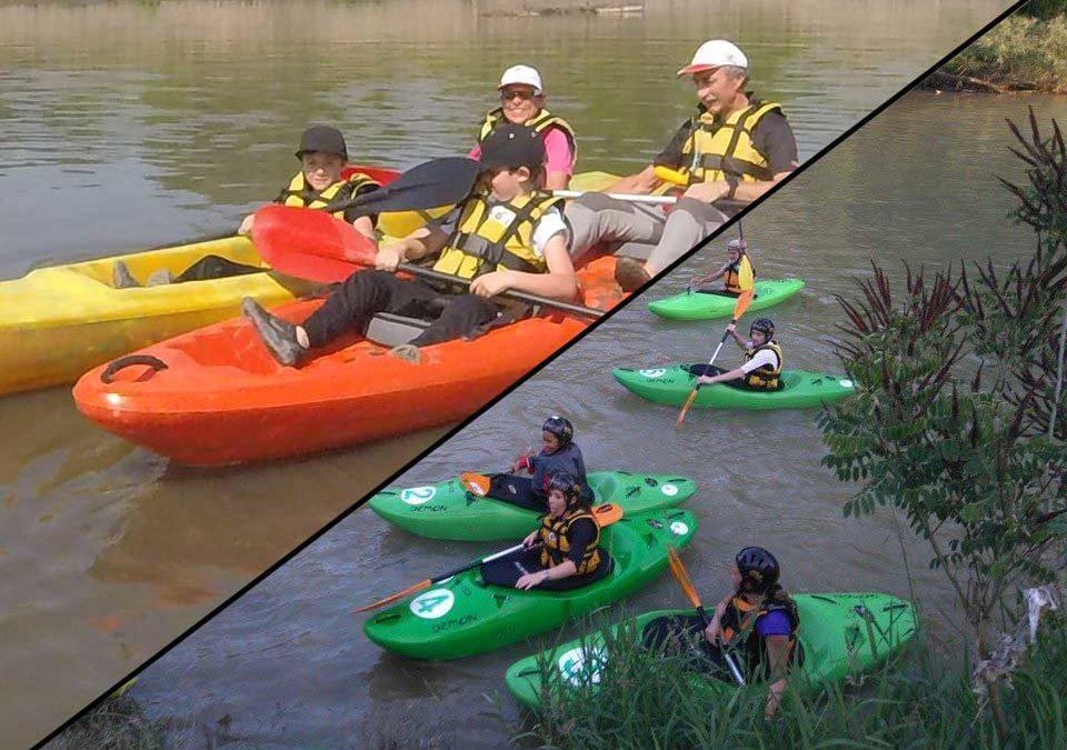 Corsi kayak acqua bianca ed escursionismo