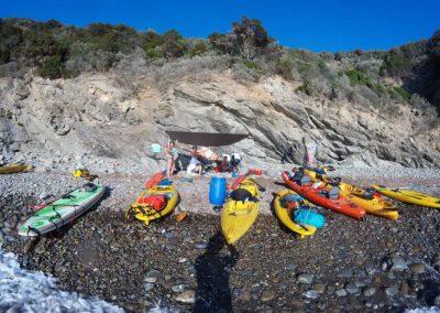 Kayak in Cala Violina and Bandite di Scarlino
