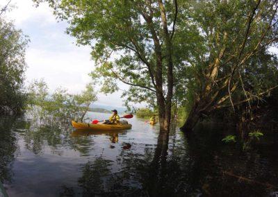 Kayak on Lake Bilancino