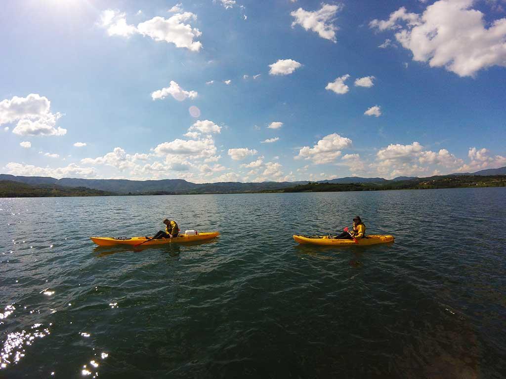 Kayak Lago di Bilancino