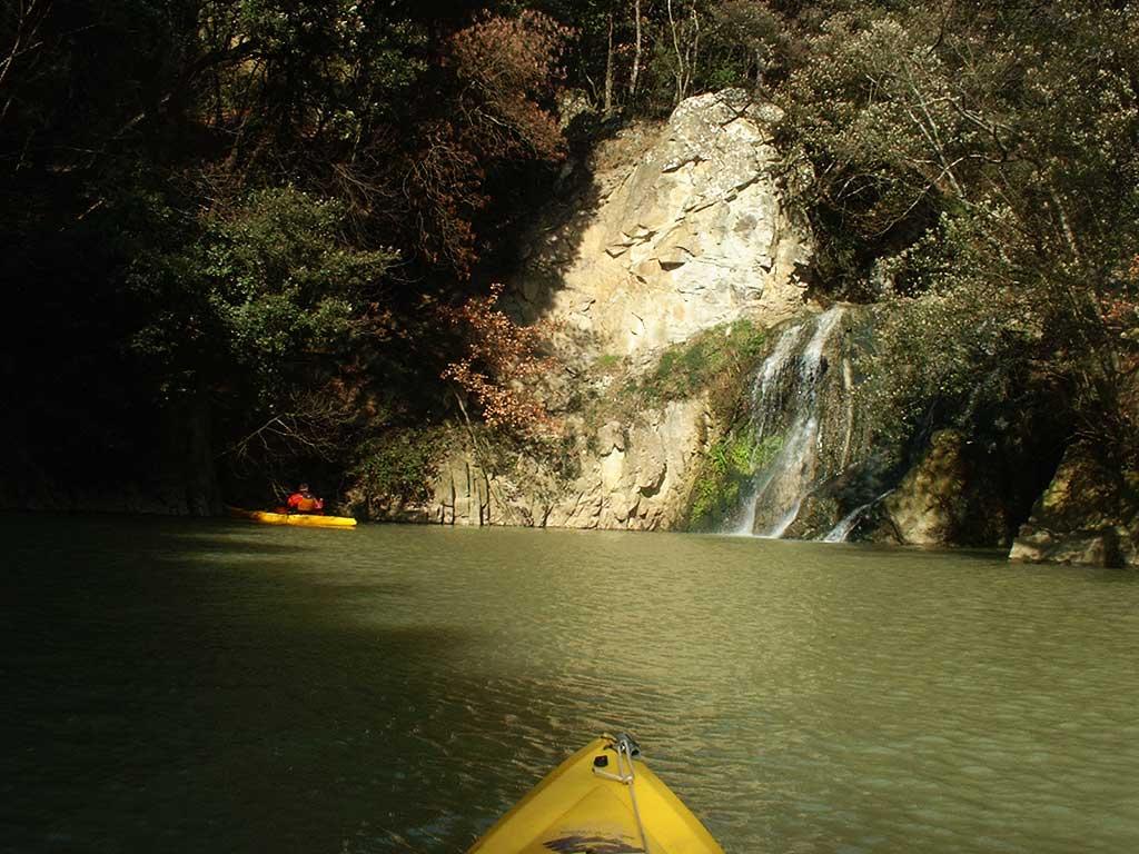 Kayak nella Riserva Naturale di Ponte a Buriano e Penna