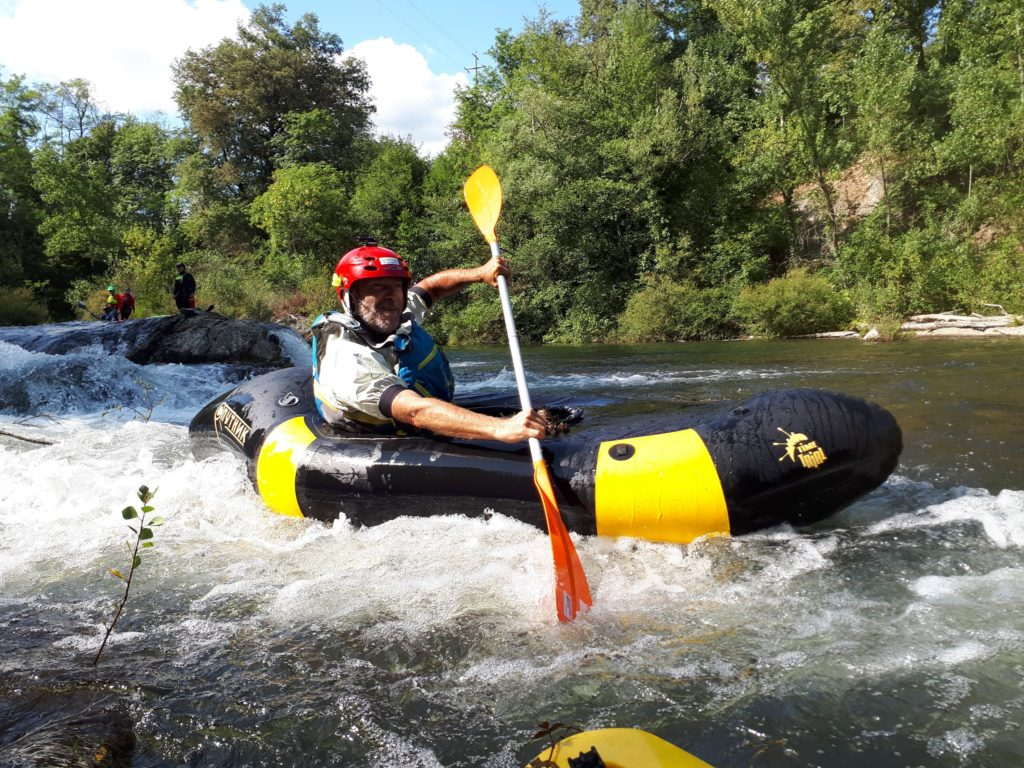 Packrafting in Toscana