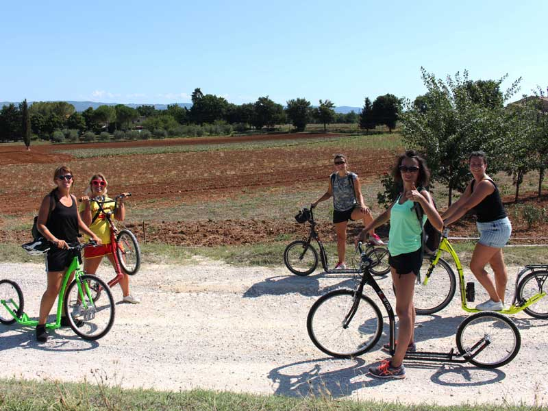 Footbike Via Francigena