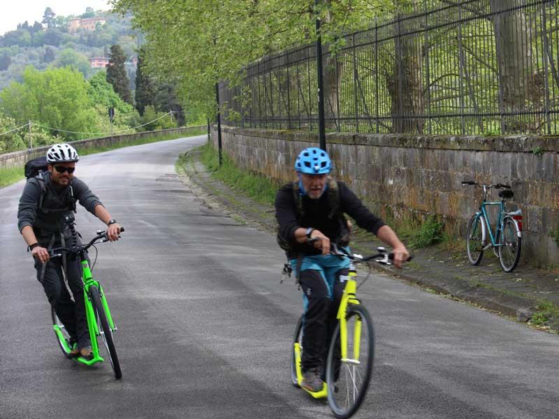Footbike Fiesole-Firenze
