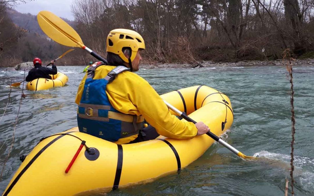 Packrafting Fiume Arno