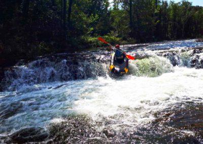 Packrafting fiume Sieve