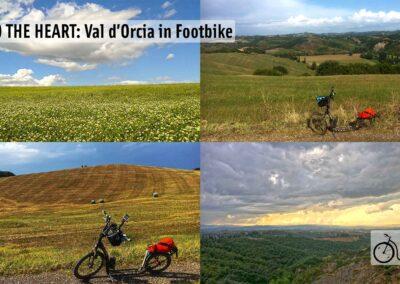 FOOTBIKE: LA VAL D'ORCIA