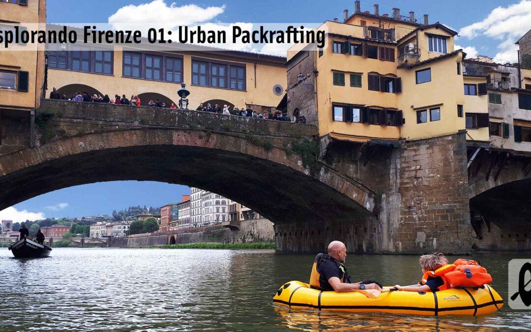 Urban Packrafting Firenze