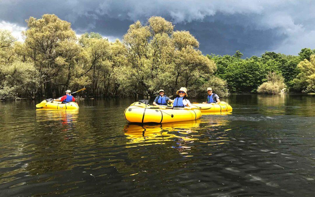 Kayak sul Lago del Calcione: navigando nella giungla