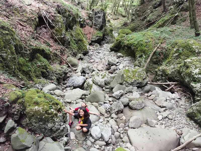 Trekking in the Castle Gorge