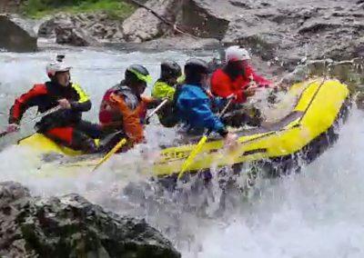 Rafting Lima upper gorge