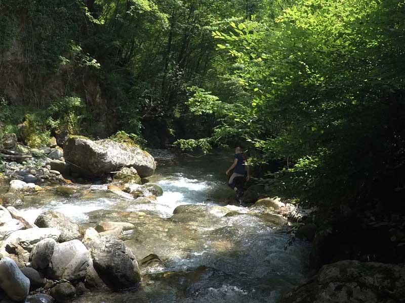 rivertrekking coccia